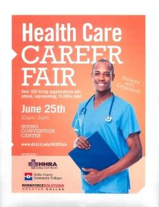 Health Care Career Fair June 25 Irving Pt.1