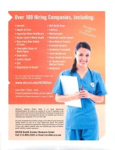 Health Care Career Fair June 25 Irving Pt.2