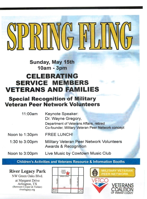 Spring Fling Arlington TX May 15