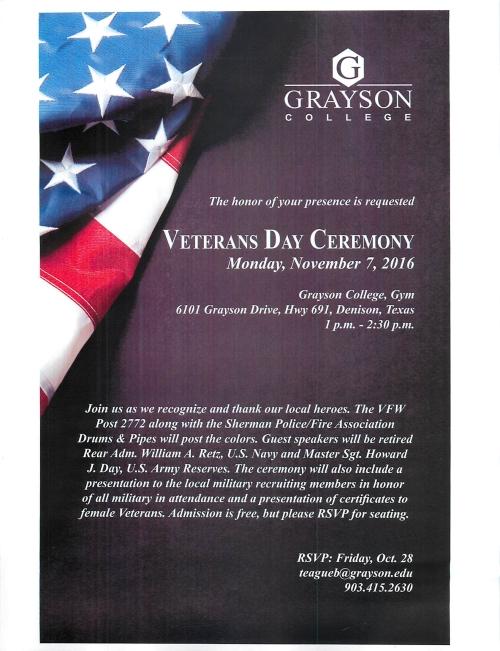 veterans-day-grayson-college-2016